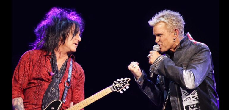 Billy Idol & Steve Stevens Jones Beach 2019